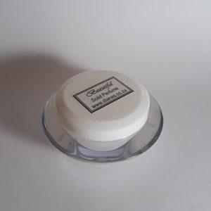 Solid Perfume acrylic jar Beautiful