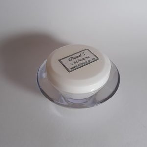 Solid Perfume acrylic jar Chanel 5