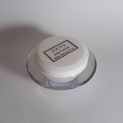 Solid Perfume acrylic jar DKNY