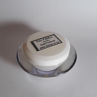 Solid Perfume acrylic jar Dolce&Gabbana