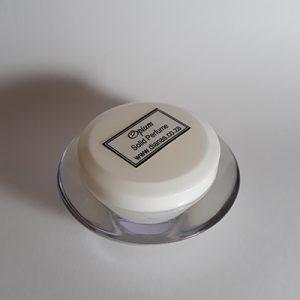Solid Perfume acrylic jar Opium