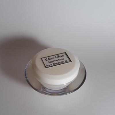 Solid Perfume acrylic jar Red Door