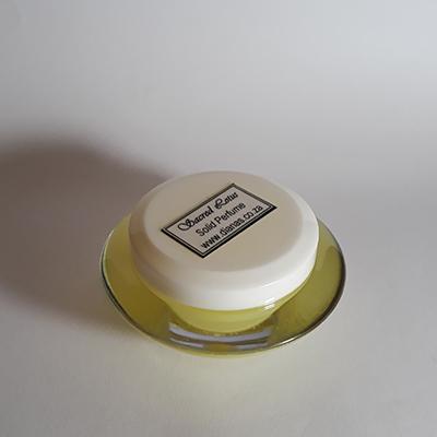 Solid Perfume acrylic jar Sacred Lotus