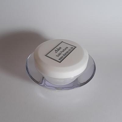 Solid perfume acrylic jar Alien